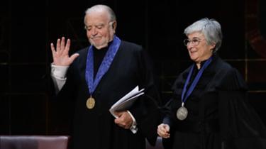 Manuel Alegre e Paula Morão