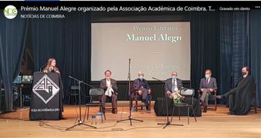 Fotograma de video publicado no facebook pelo Notícias de Coimbra
